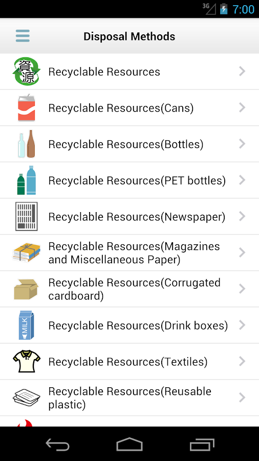 Niiza City Garbage Separation- screenshot