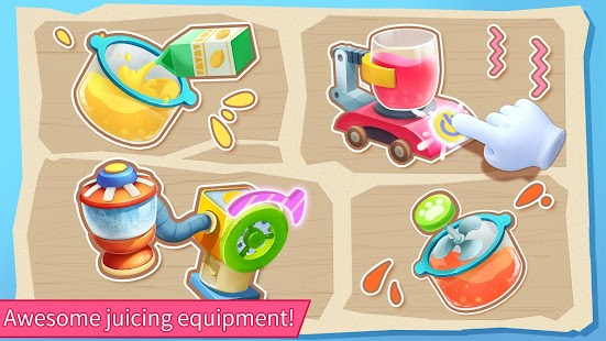 Baby Panda's Summer: Juice Shop Screenshot