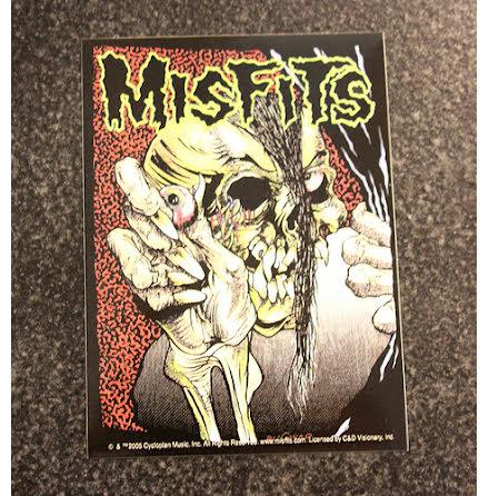 Misfits - Skull Eye - Klistermärke