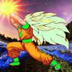 Saiyan Goku Fight Warrior Z Icon