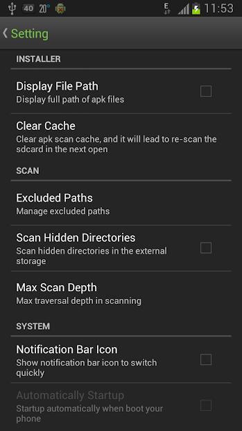 Easy Installer - Apps On SD screenshot 5