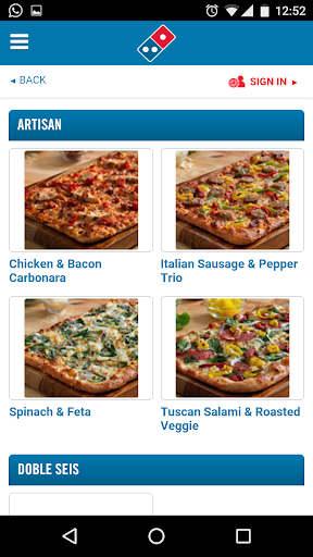 Domino's Pizza Caribbean Screenshot