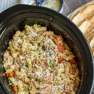 Garlic Butter Chicken and Pasta