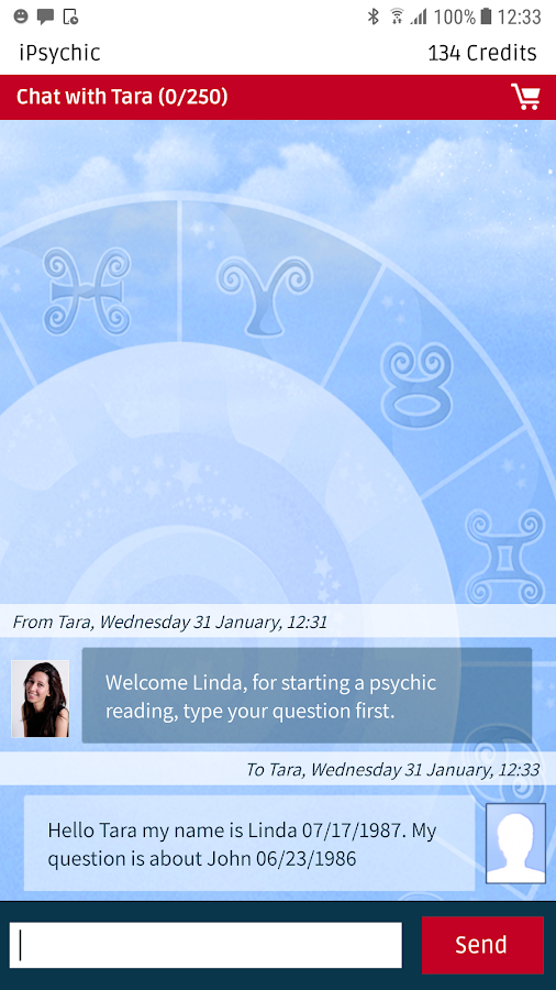 Psychic - Real Live Reading & Love Predictions- screenshot