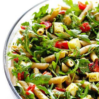 5-Ingredient Pesto Pasta Salad.