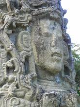 Photo: One of Copan's Kings