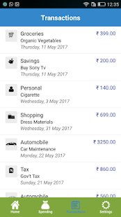 Spending Expense Tracker - Money Manager- screenshot thumbnail