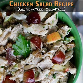 Healthy Chicken Salad Recipe {Egg-Free, Gluten-Free}.