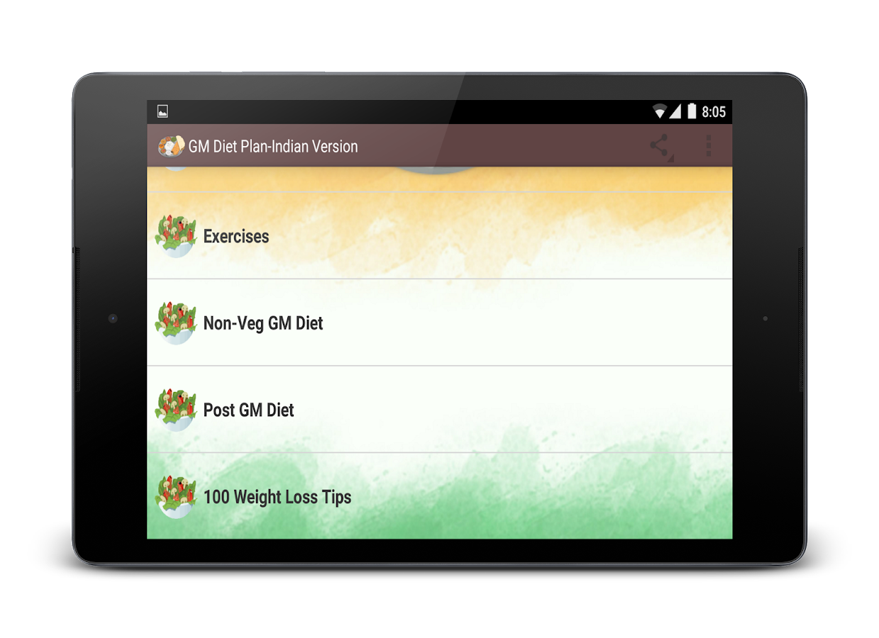 gm diet plan indian version android apps on google play