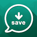 Status saver whats : All status downloader app icon