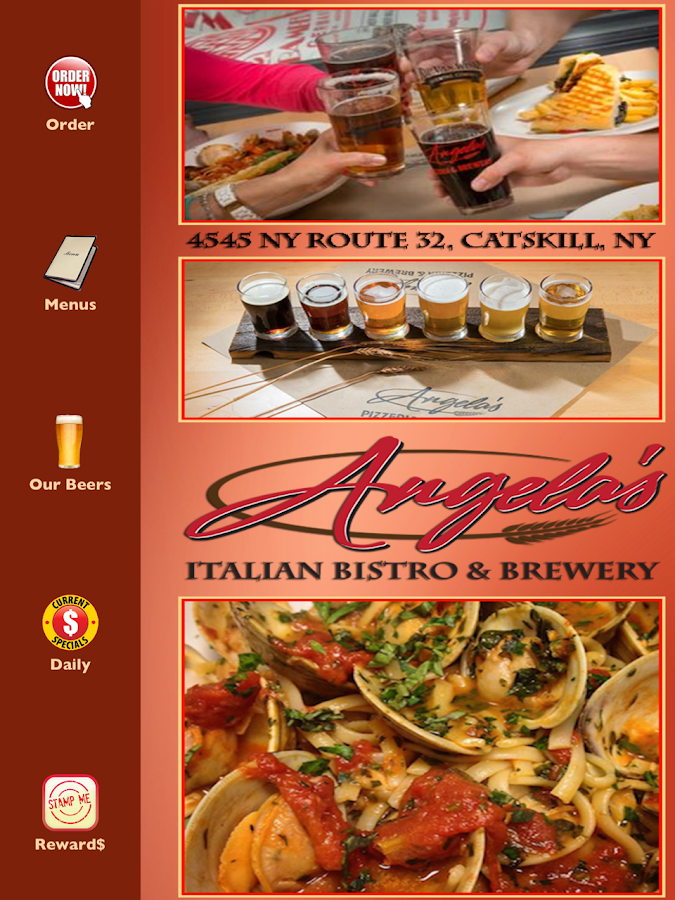 Angela's Bistro & Brewery- screenshot