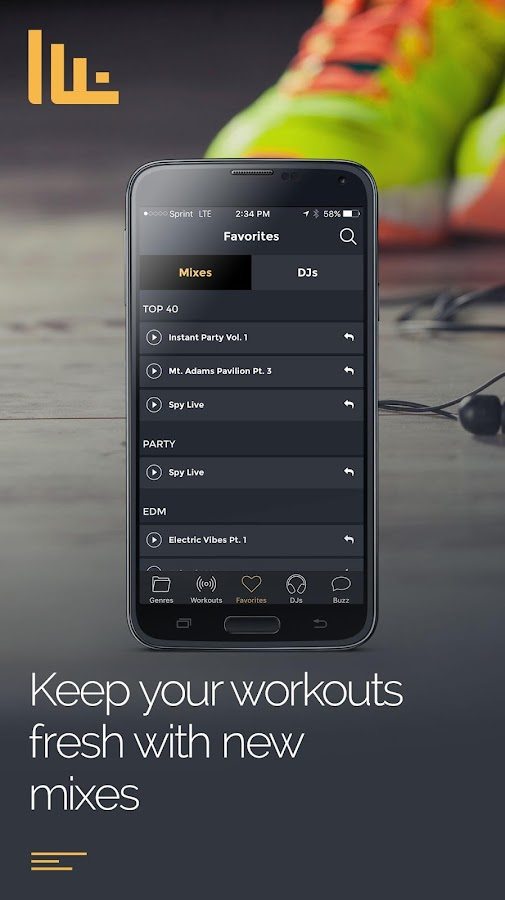 FIT Radio Workout Music- screenshot