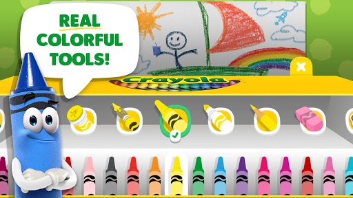 Crayola Create & Play: Coloring & Learning Games android2mod screenshots 2