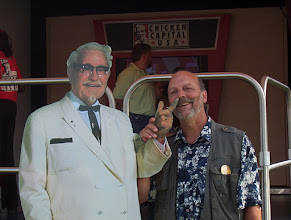 Photo: That Colonel, what a sense of humor...