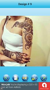Modern Mehndi Tattoo Designs - náhled