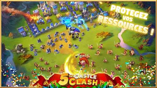 Castle Clash: RPG War and Strategy FR  {cheat|hack|gameplay|apk mod|resources generator} 3