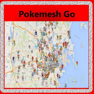 New Pokemesh Go screenshot