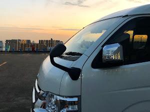 ハイエースワゴン TRH214Wのカスタム事例画像 みーまるさんの2021年01月23日22:48の投稿