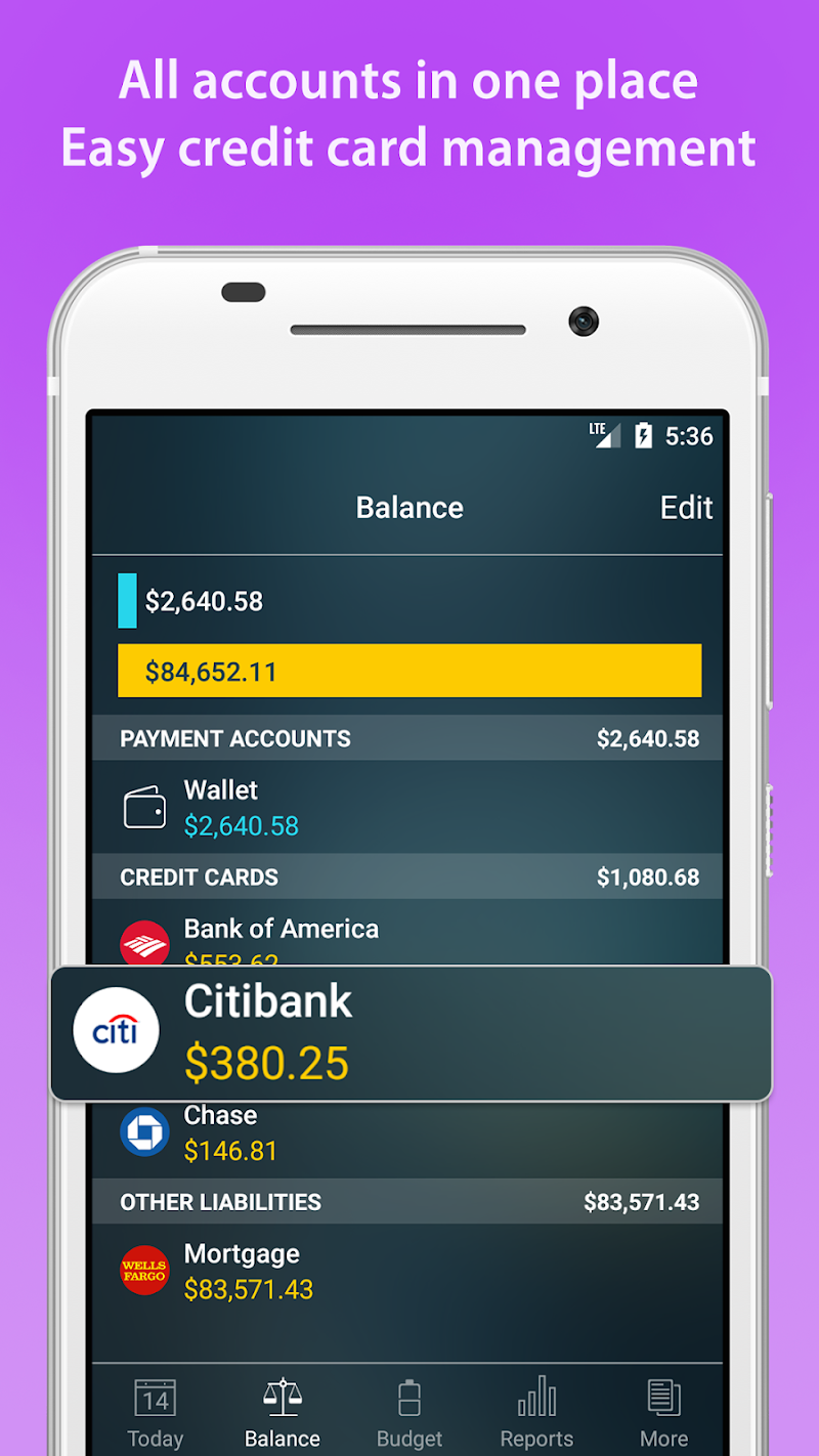 Money Pro - Personal Finance & Expense Tracker Screenshot 3