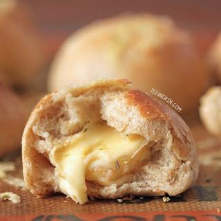 Whole Wheat Stuffed Cheese Buns