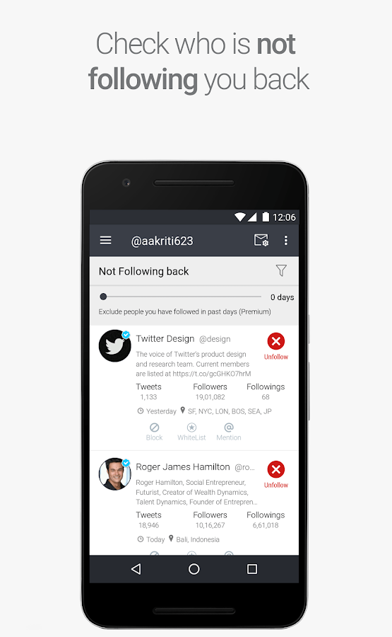 Statusbrew: Schedule Posts, Know Twitter Followers- screenshot