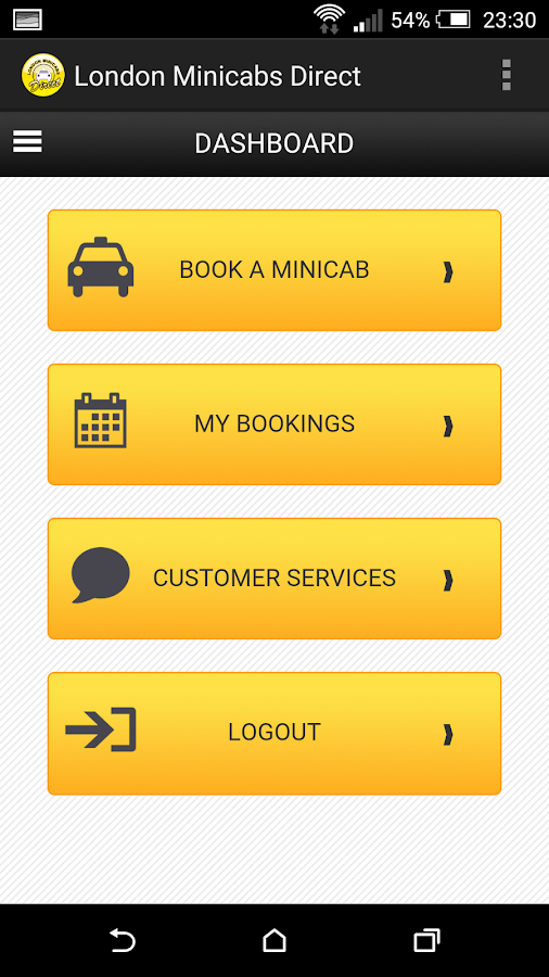 London Minicabs Direct- screenshot