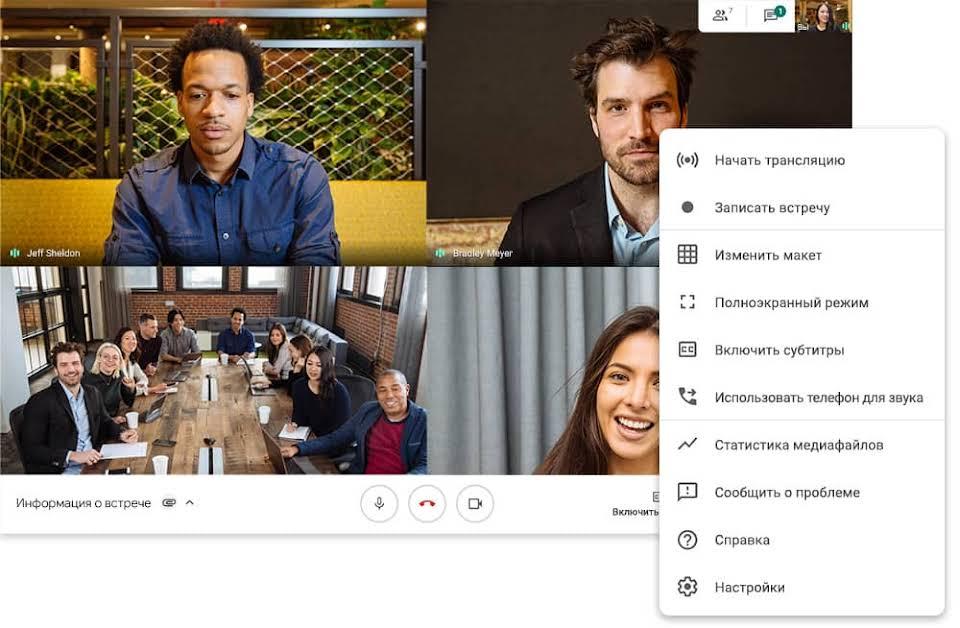 Что такое Google Meet