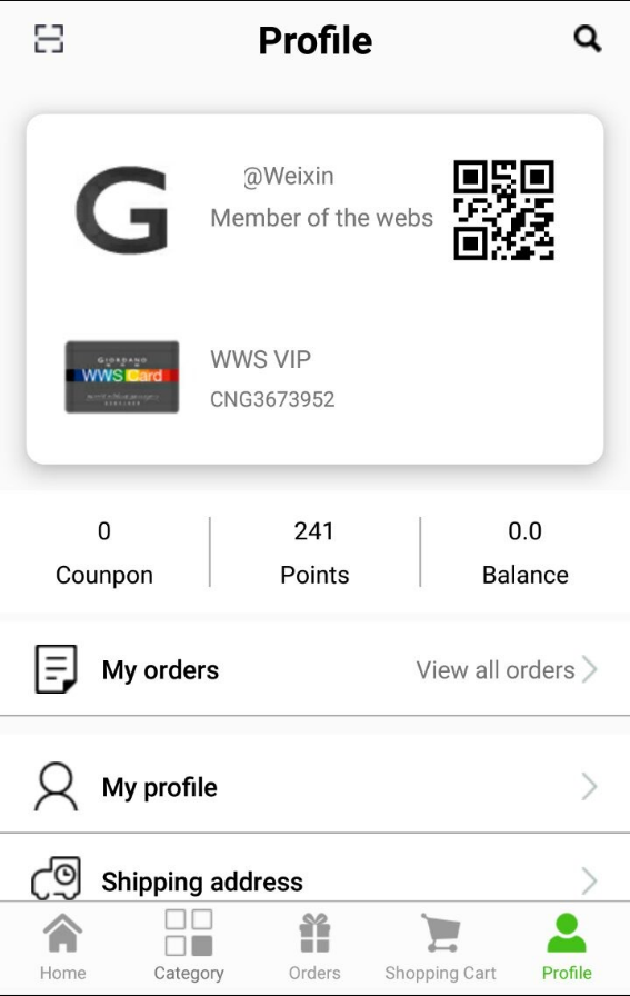 Giordano Global Official App- screenshot