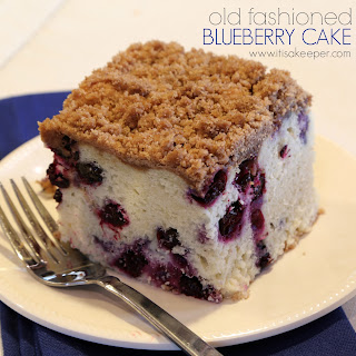 Old Fashioned Blueberry Cake Recipe