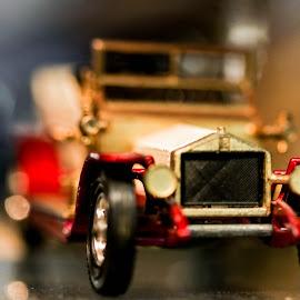 Market Model by Mark Hewetson - Transportation Automobiles ( car, macro, model, market, miniature )