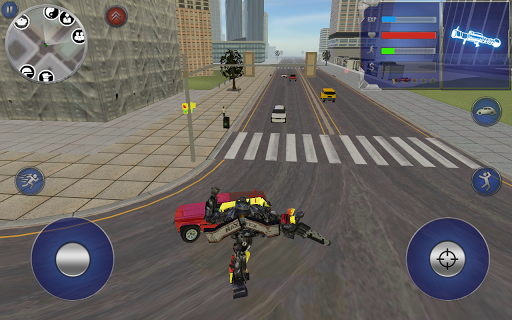 Pickup Truck Robot apktram screenshots 2