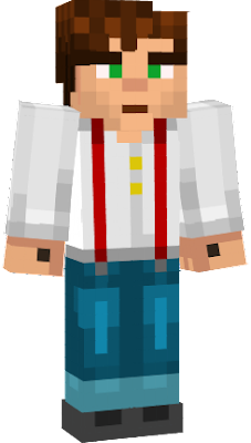 The main character from the story mode of Minecraft.