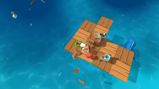 Epic Raft: Fighting zombie shark survival MOD (unlimited everything) 4