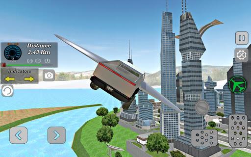 Modern Sports Flying SUV : Driving Simulator ss1