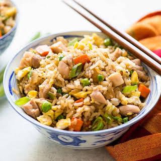 Chicken Fried Rice.