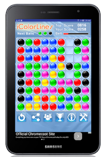 i Color Lines Puzzle Game- screenshot thumbnail