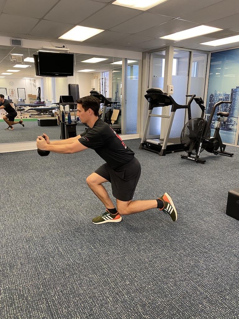 Skater Squat for strength training
