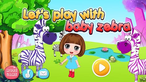 ドラとシマウマの赤ちゃん幸せな時間 - 子供のゲーム無料