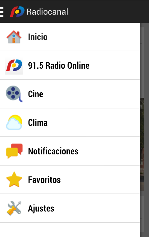 Radiocanal- screenshot