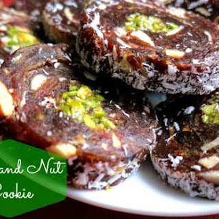 Date and Nut Cookie.