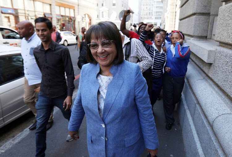 Mayor of Cape Town Patricia de Lille at the Western Cape High Court. Picture: ESA ALEXANDER/SUNDAY TIMES