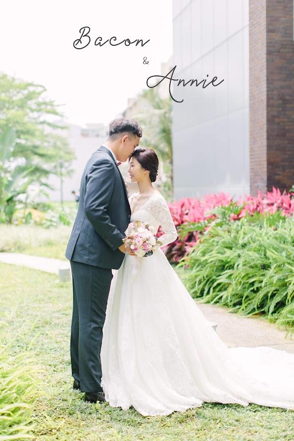 在 台南 的 大員皇冠假日酒店婚禮 場地舉行陽光正好的美式 婚禮 , 是每位新娘夢寐以求的西式婚禮樣式!