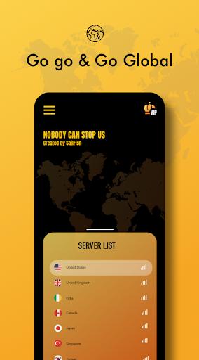 Sailfish VPN - Secure VPN & Super Fast VPN Free 3.1.0 screenshots 2