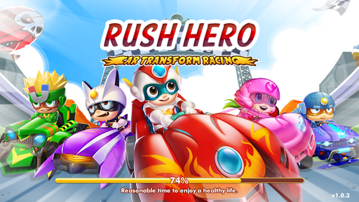 Rush Hero - Car Transform Racing