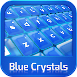 GO Keyboard Blue Crystals 3.1 Apk