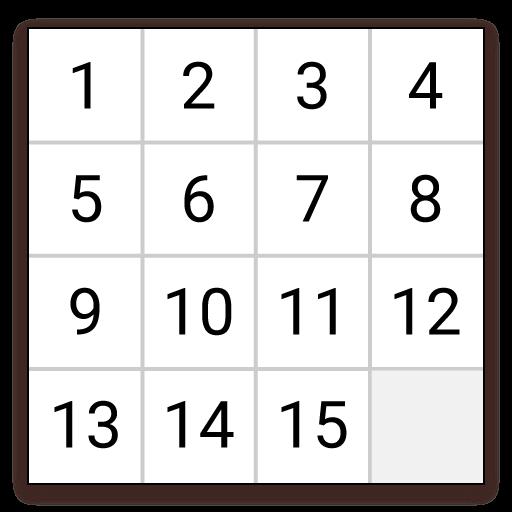 解谜の15パズル LOGO-記事Game