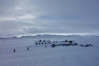 Photo: Sandhaug etter ein strabasiøs tur i kuling.