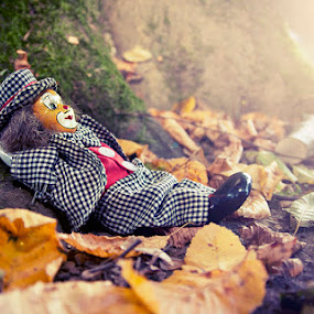 Relax. by Denis Klicic - Artistic Objects Toys ( tree, toy, clown, relax )