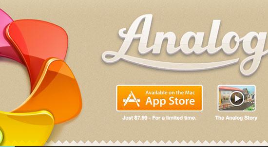 Analog app
