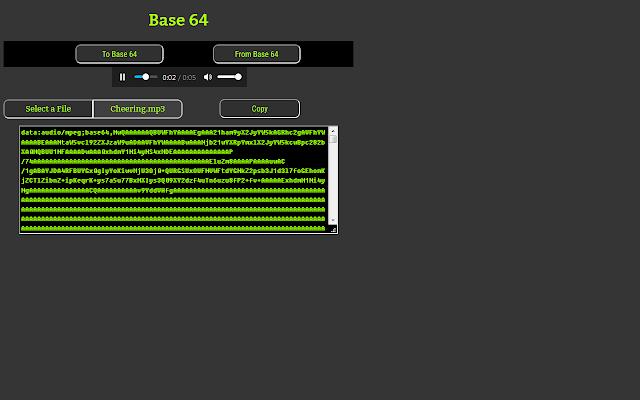 Base64 Encoder/Decoder